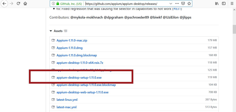 Install Appium Desktop Server | TestingDocs com