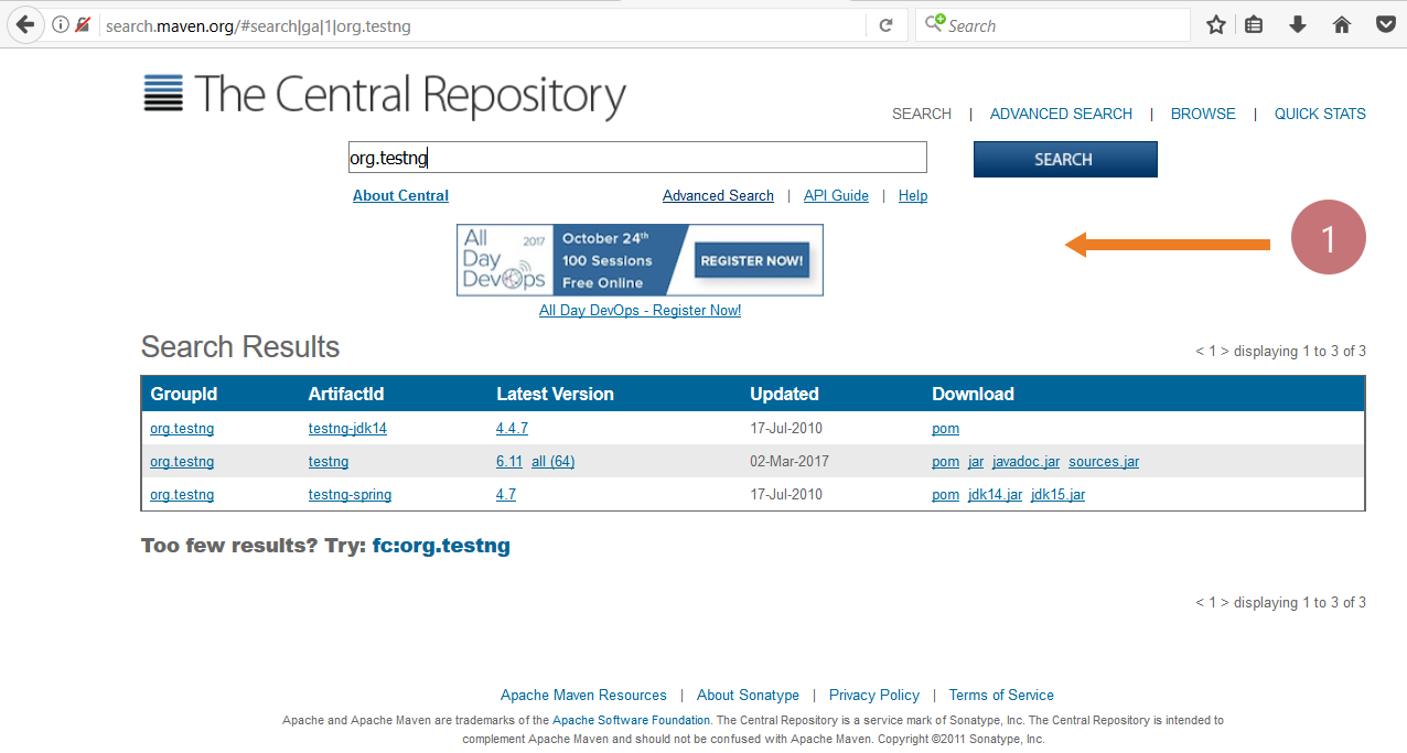 Central Repository