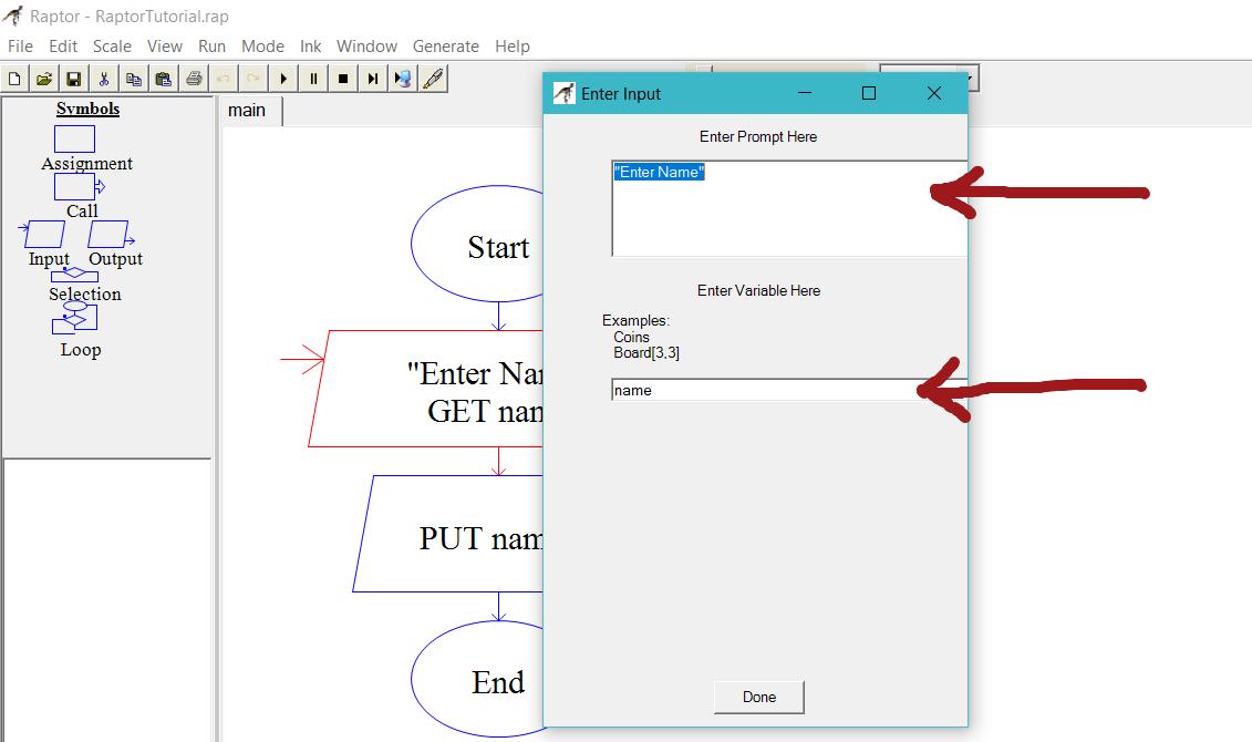 Input and Output to a flowchart | TestingDocs com
