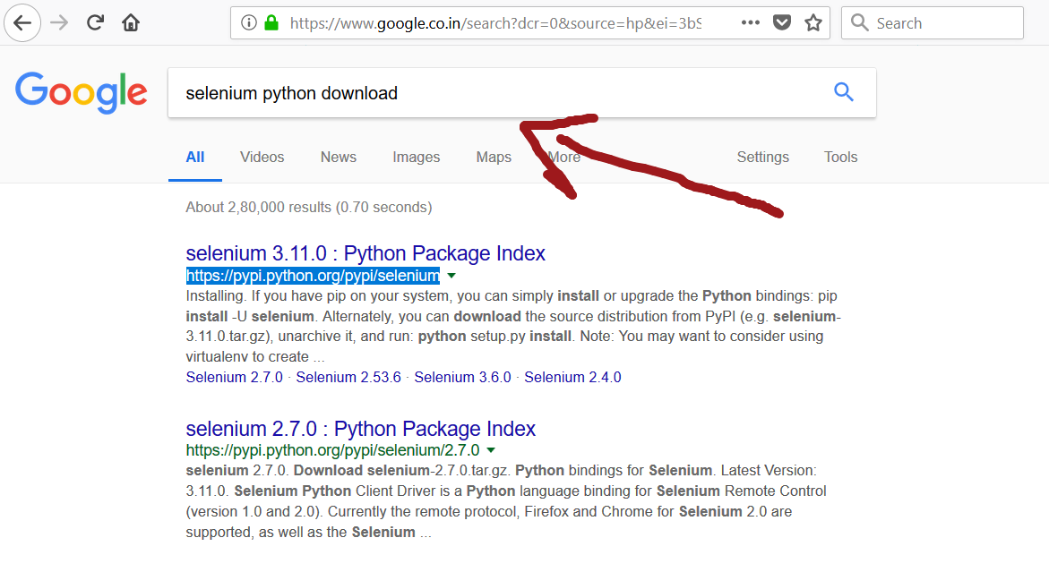 Python language bindings for Selenium - TestingDocs com