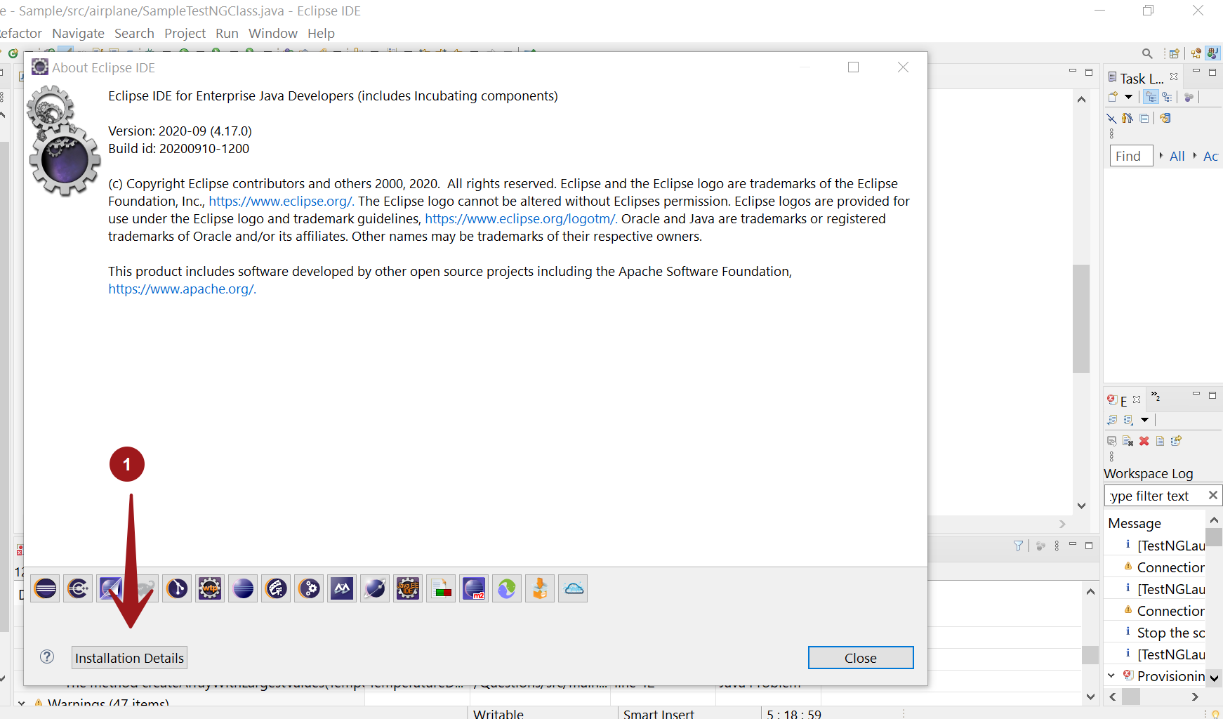 Eclipse Software Details