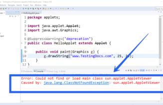 Java Applets Depricated