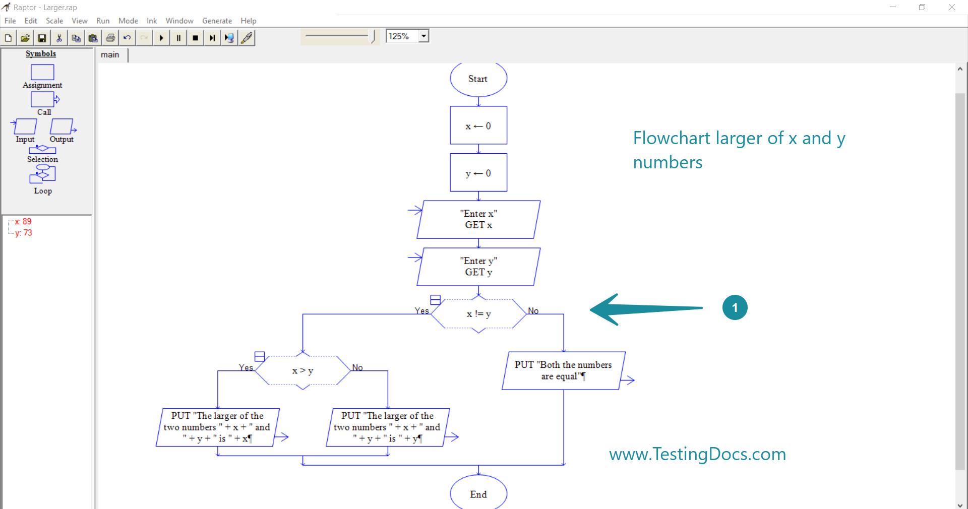 Design a flowchart