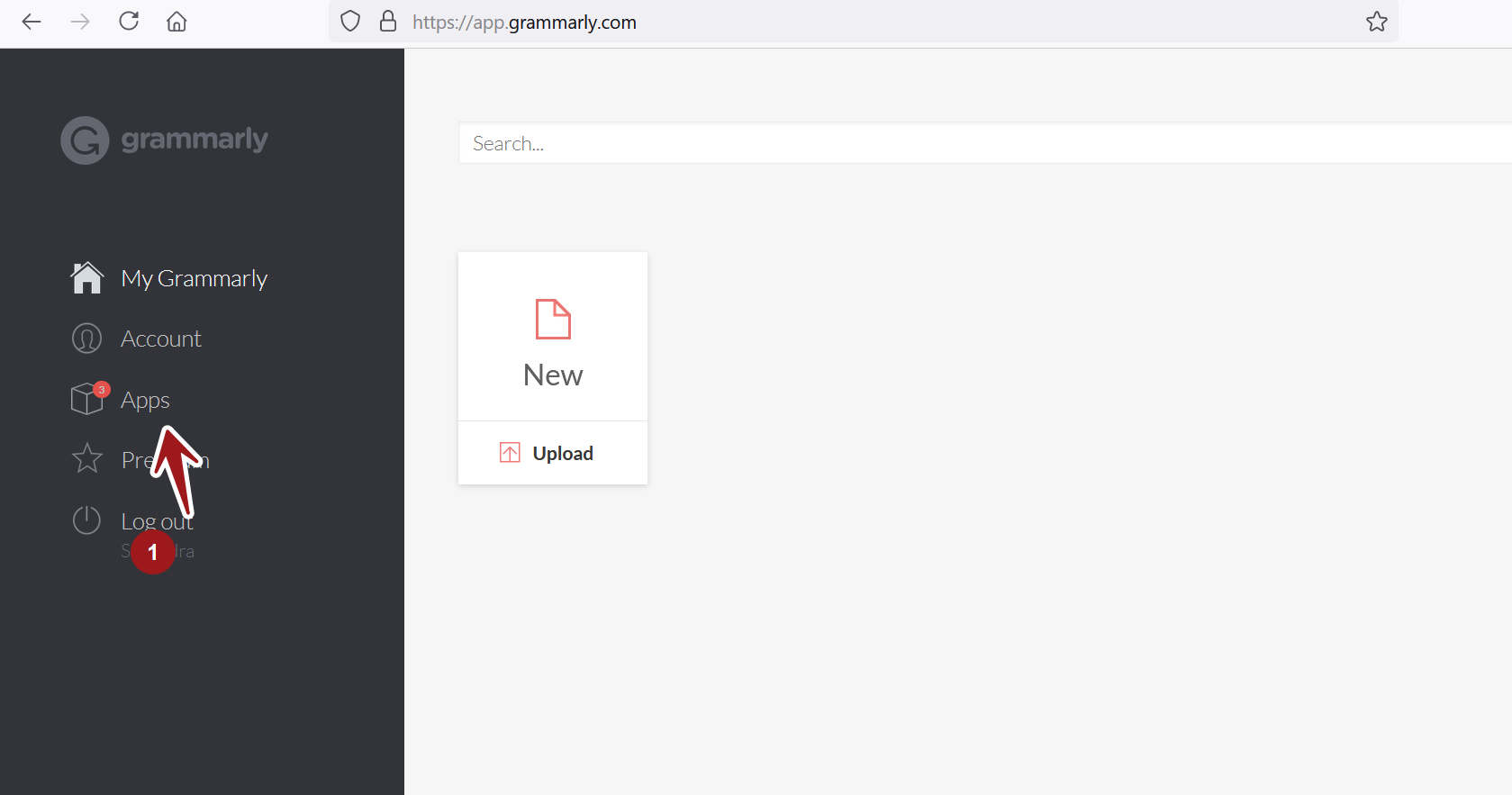 My Grammarly Page