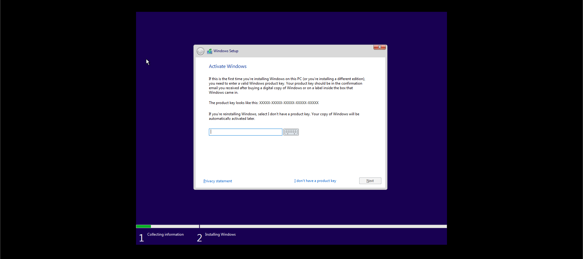 Activate Windows Product Key