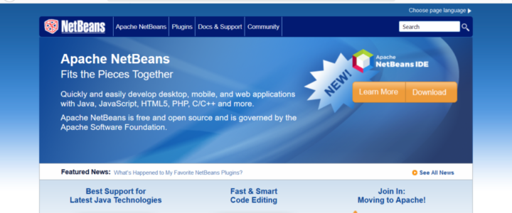 Apache NetBeans Website
