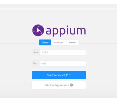 Appium Desktop