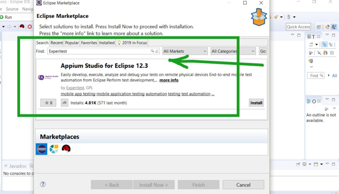 Appium Studio for Eclipse