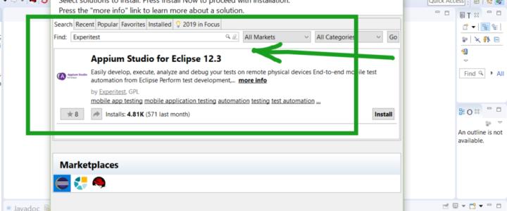 Appium Studio for Eclipse