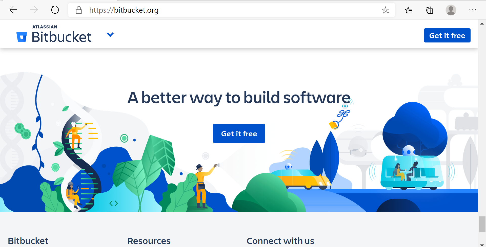 BitBucket Website