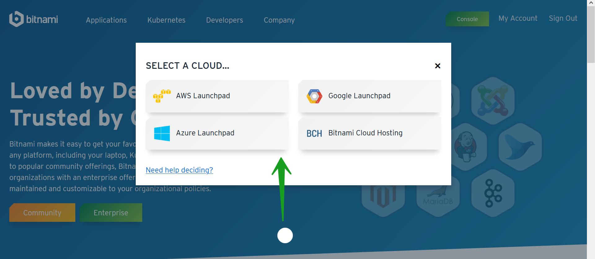 Cloud Launch Pad