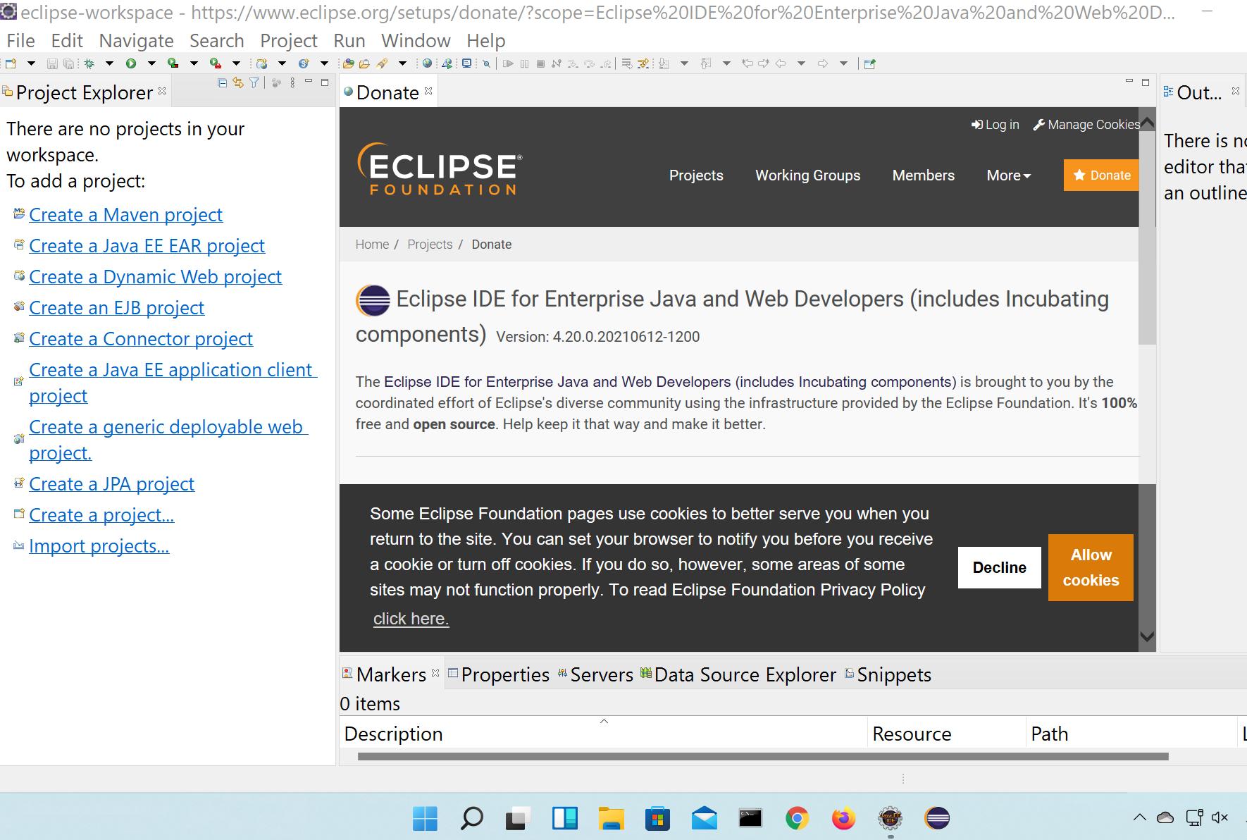 Eclipse IDE UI