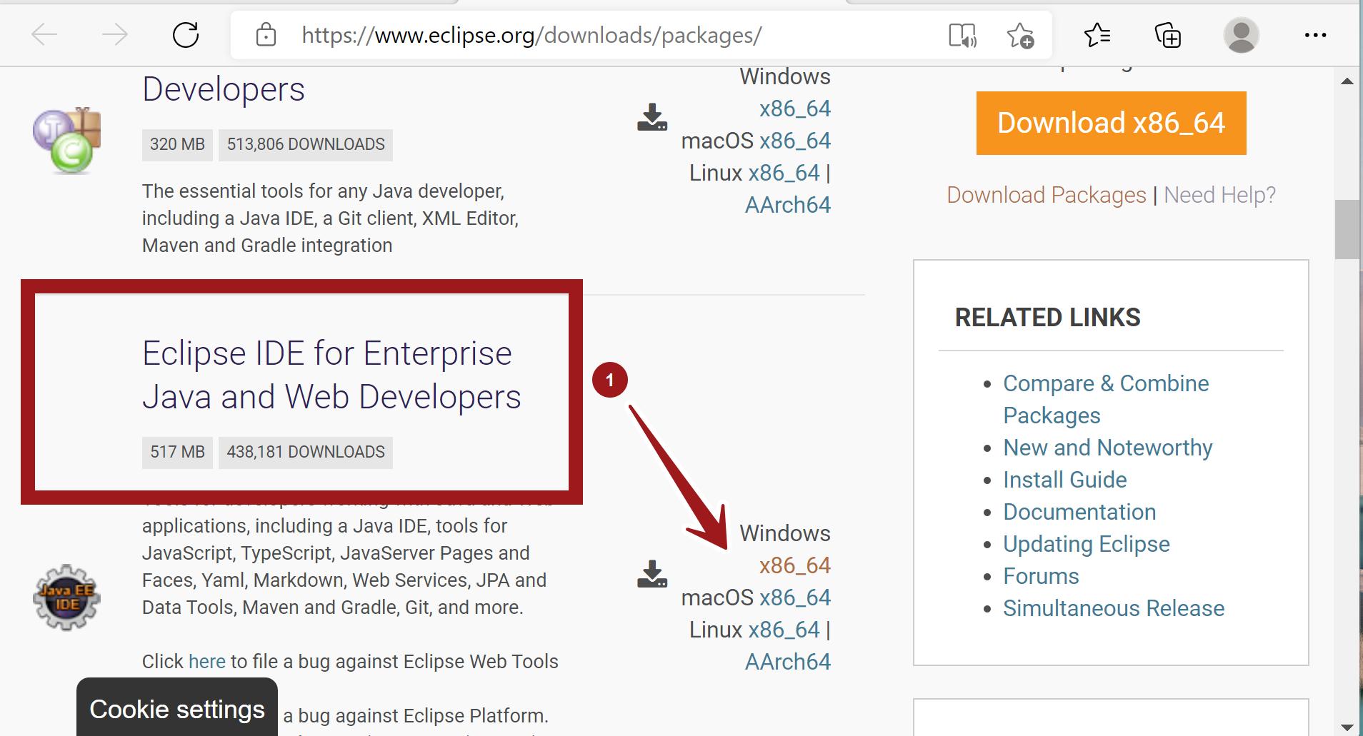 Eclipse IDE for Enterprise Java Download