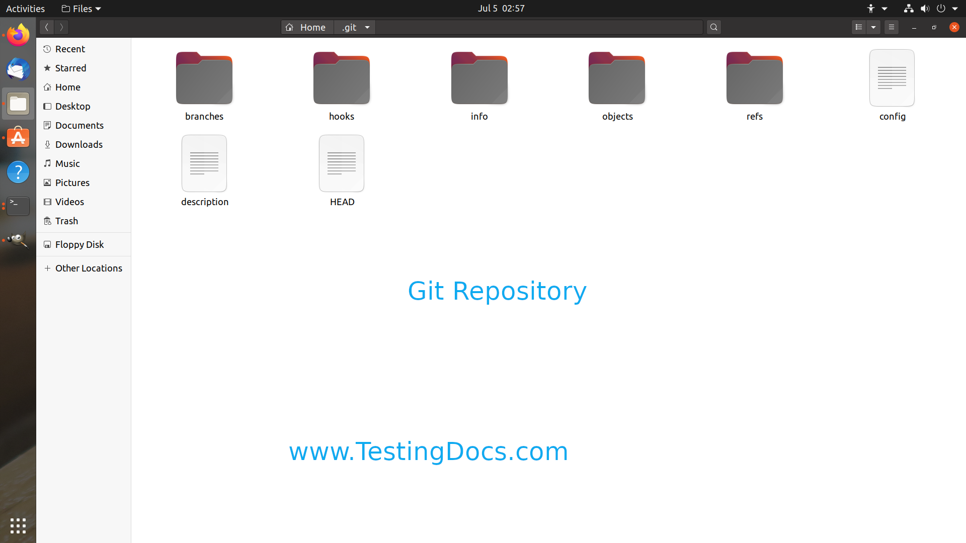 Git Repository Linux