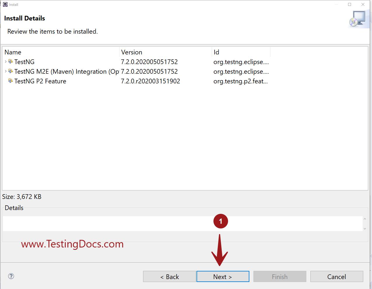 Install TestNG Eclipse Maven Integration