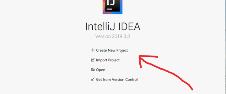 IntelliJ Create New Project