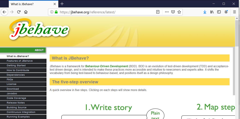 BDD Java Frameworks JBehave