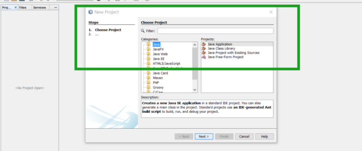 Java Project NetBeans IDE
