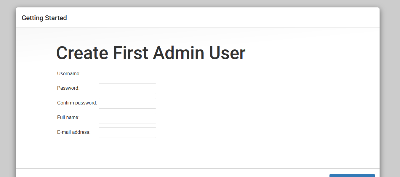 Jenkins Admin User