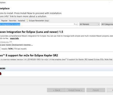 Maven-Integration-for-Eclipse-Marketplace