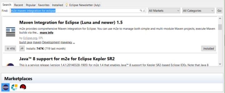 Maven-Integration-for-Eclipse-Marketplace
