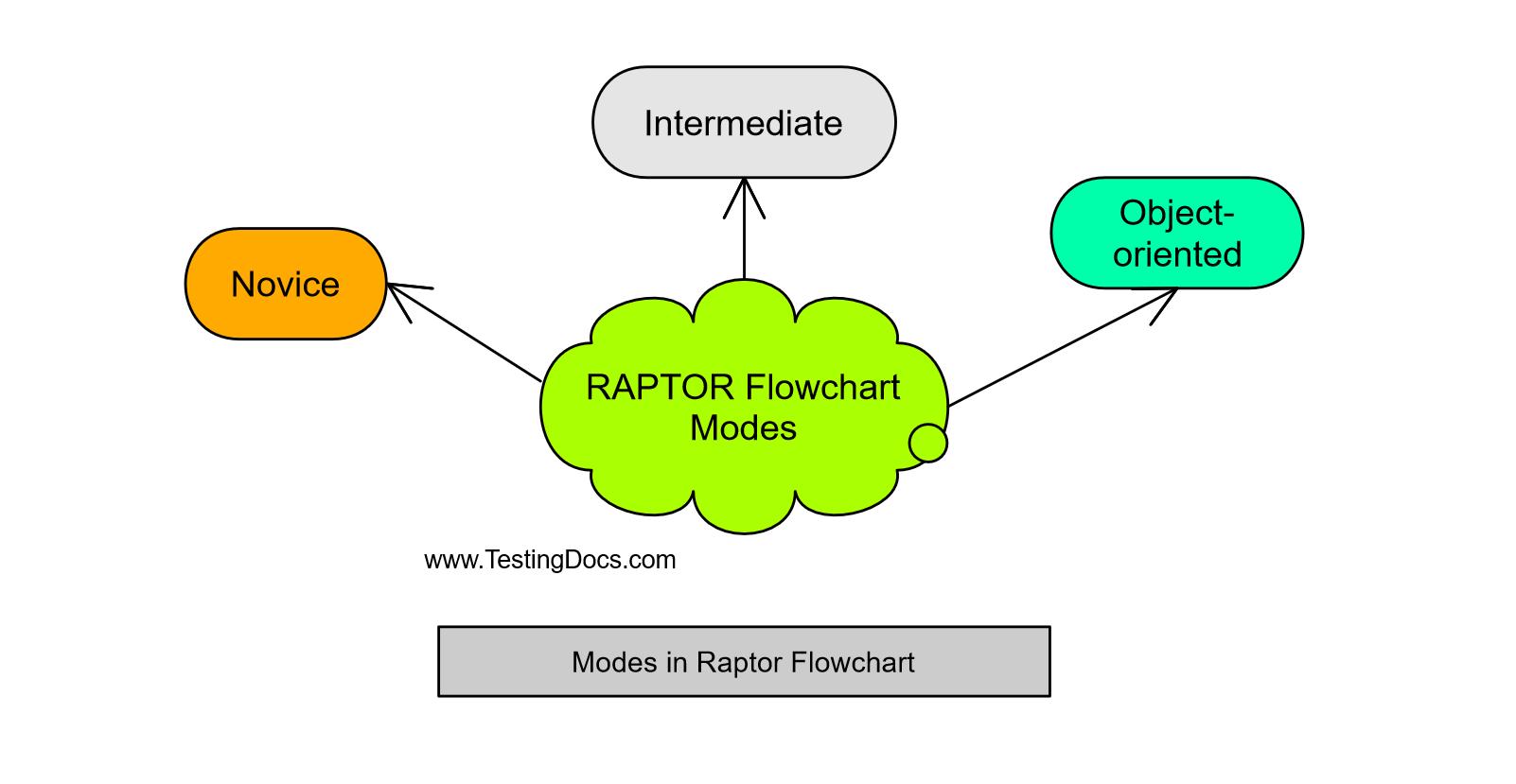 Modes in Raptor Flowchart
