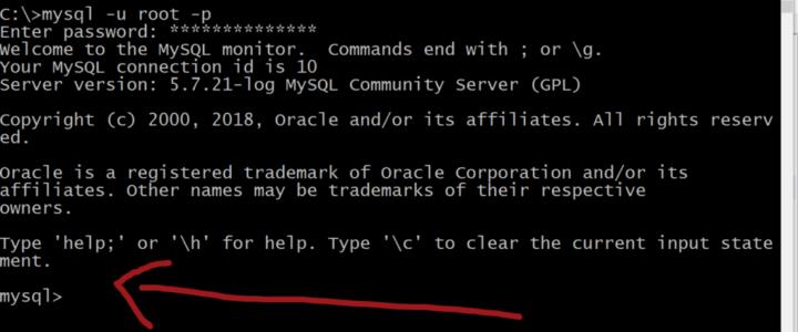 MySQL-Command-prompt-