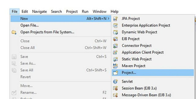 New Java Project