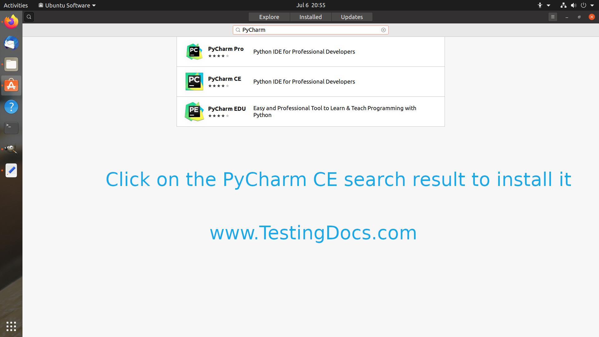 PyCharm CE