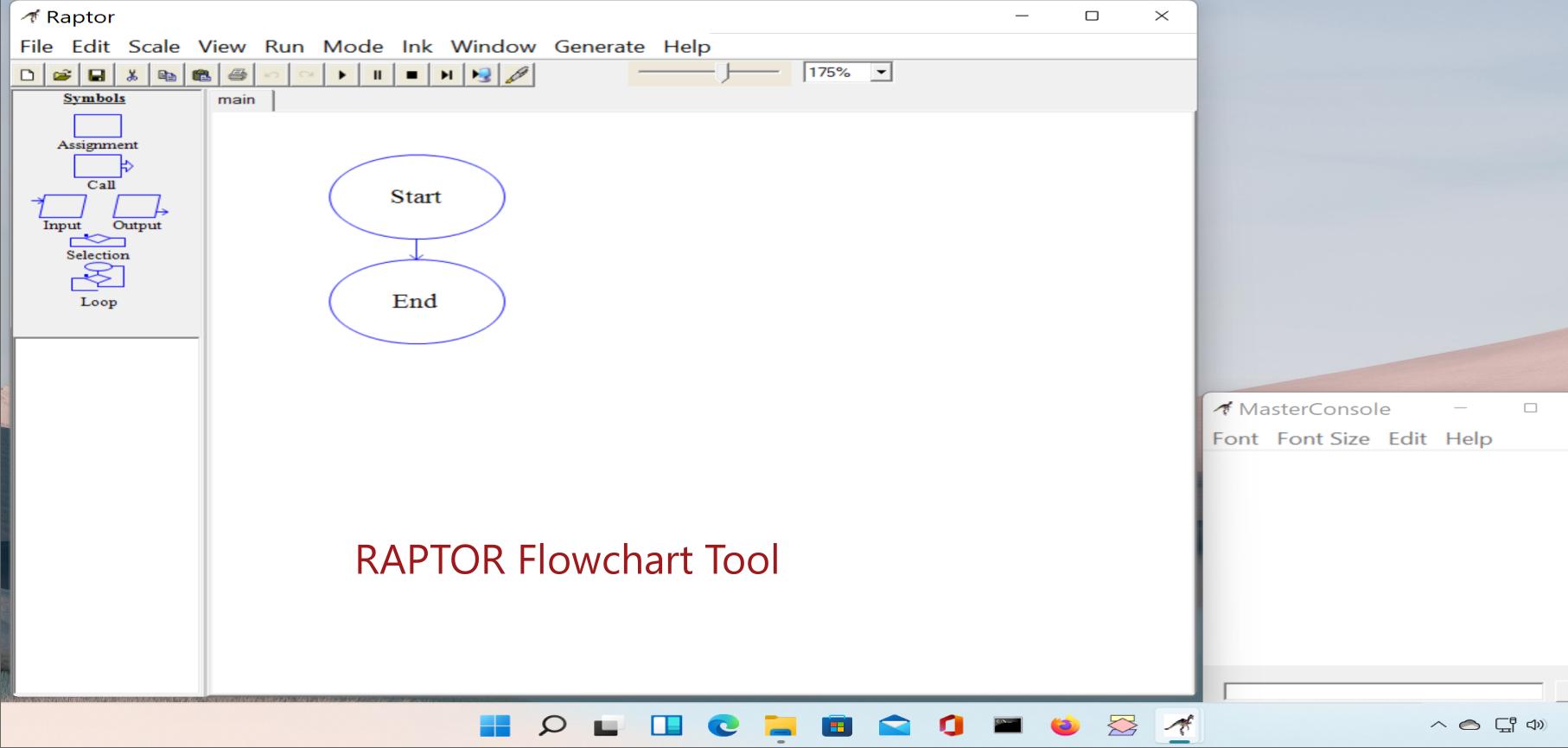 RAPTOR Flowchart Tool