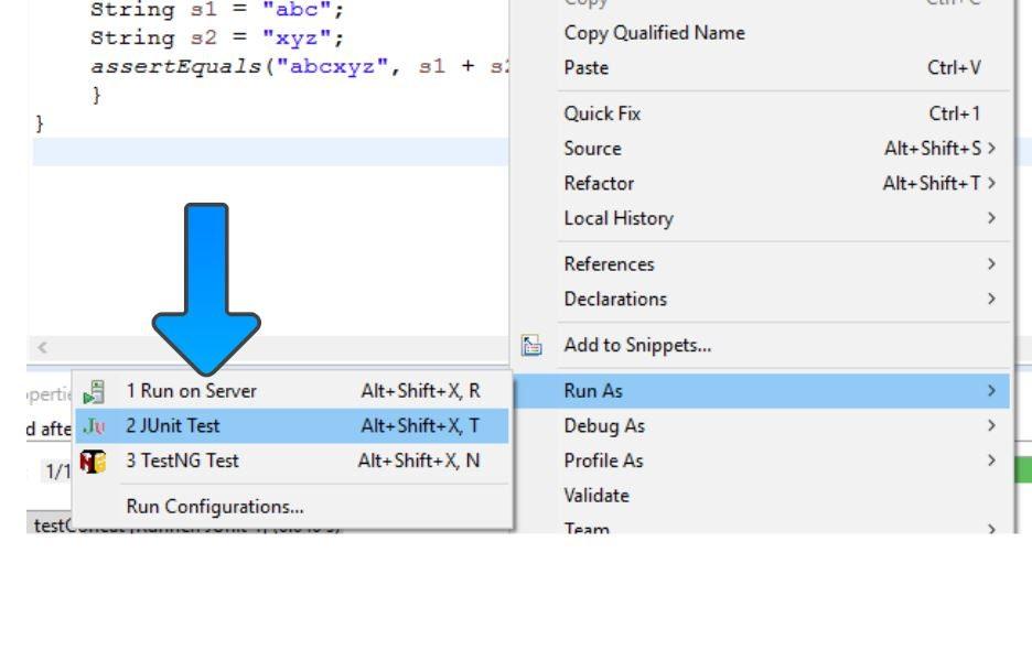 Getting Started with JUnit Framework