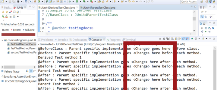 Running Dervied with Changes Parent