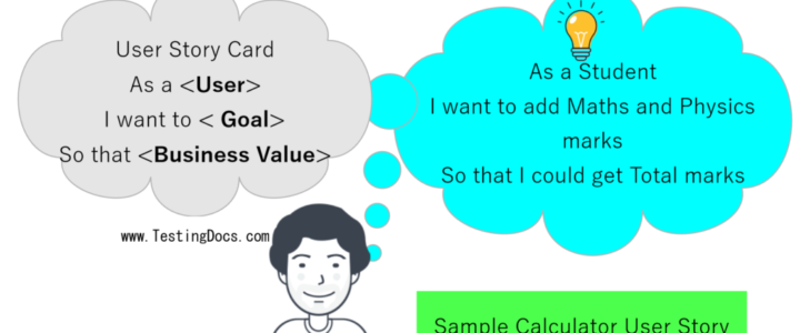 Sample Calculator User Story