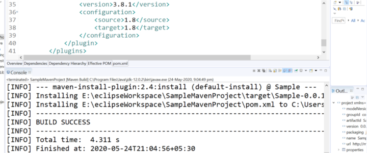 Source Target Version Java