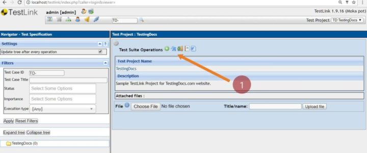 Test-Suite-operations