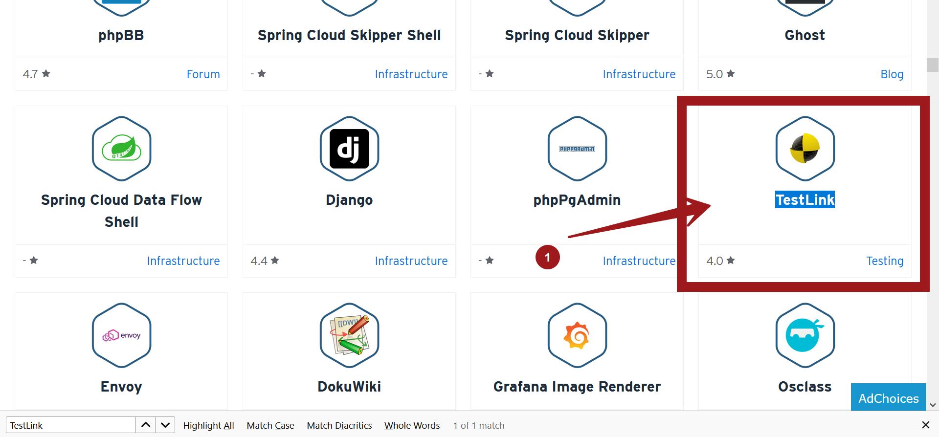 TestLink Bitnami Cloud Image