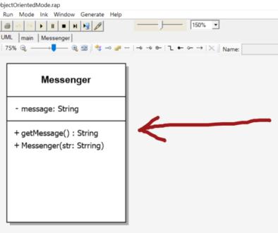 UML Messenger Raptor