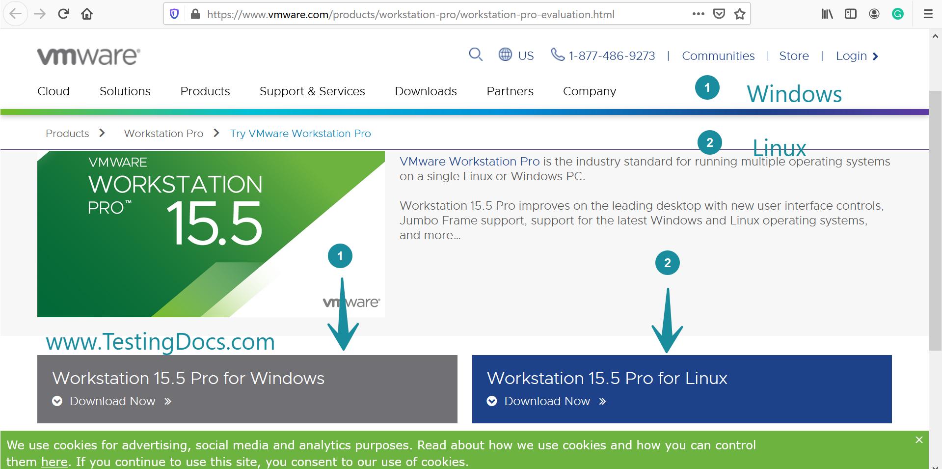 VMWare Workstation Windows Install