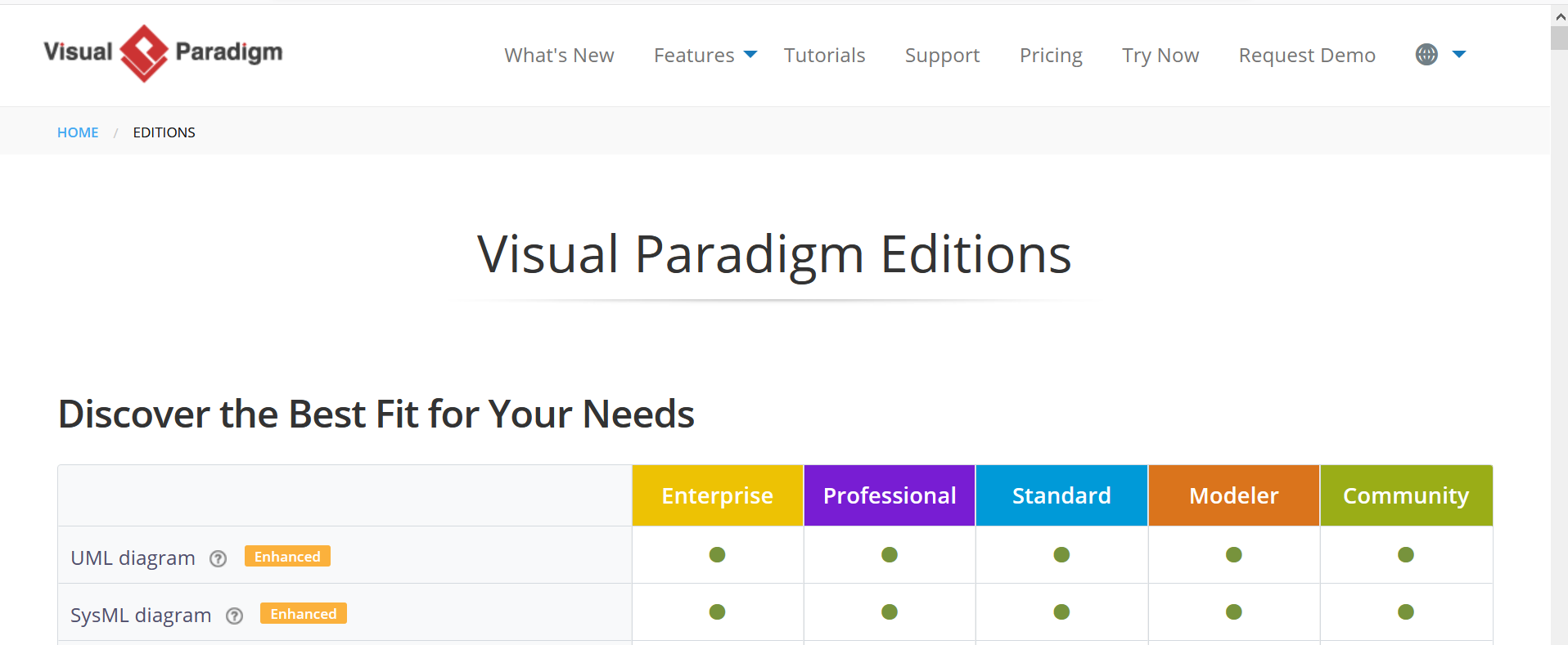 Visual Paradigm Editions