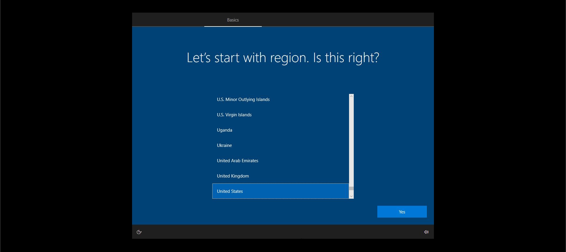 Windows 10 Install Options