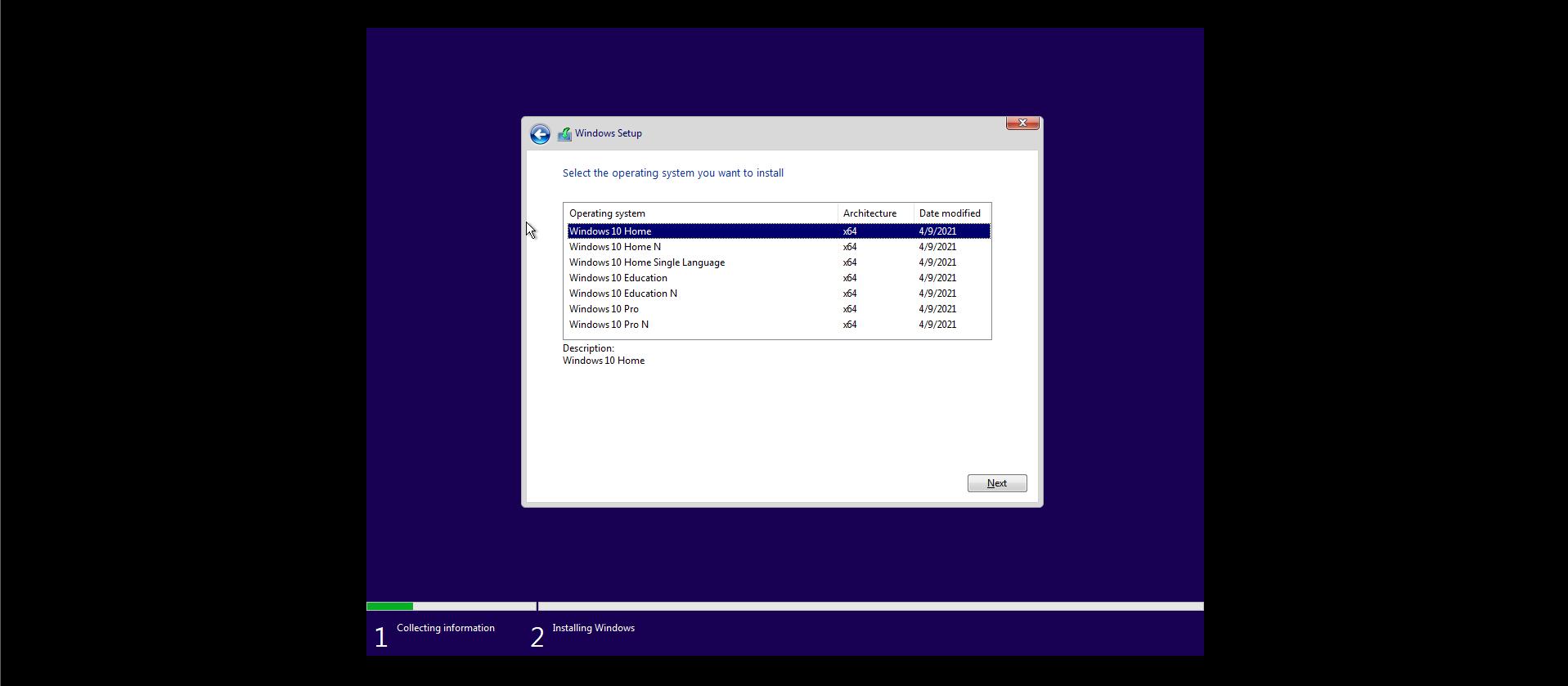 Windows Editions