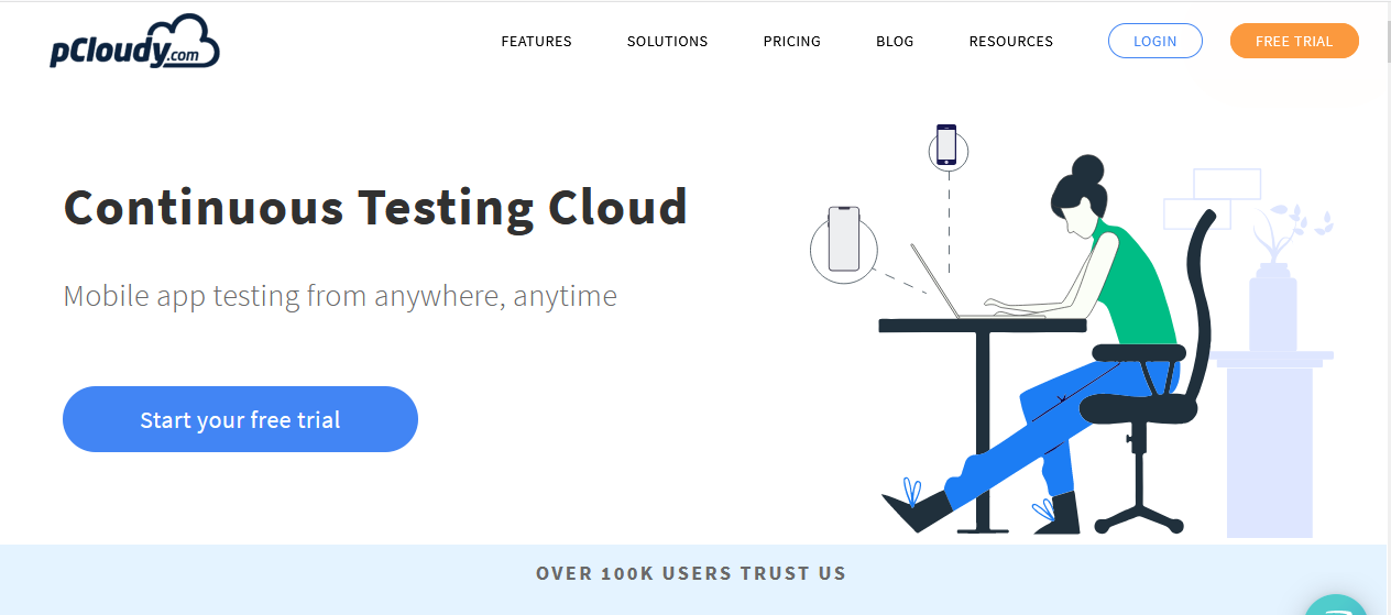 pCloudy Website