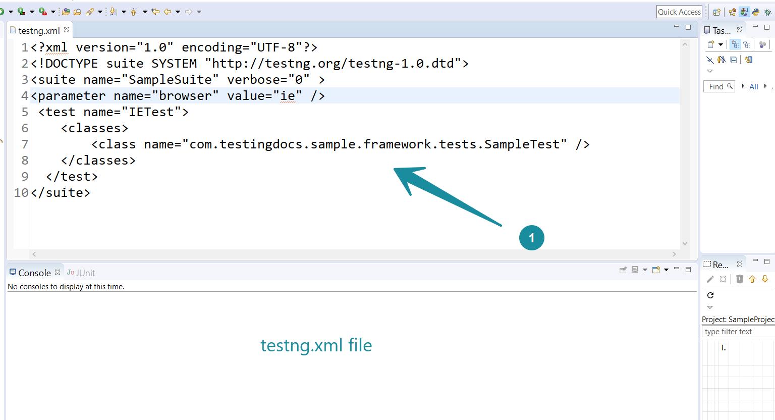 testng.xml file